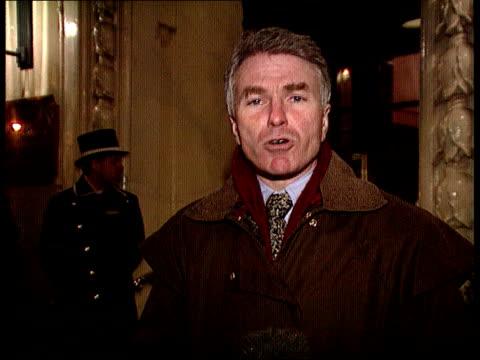 granada bid:; england: london: aldwych: walford hotel: ext/night cms webster i/c sot holborn: int / day cms sir rocco forte intvwd sot - i'm... - walford stock-videos und b-roll-filmmaterial