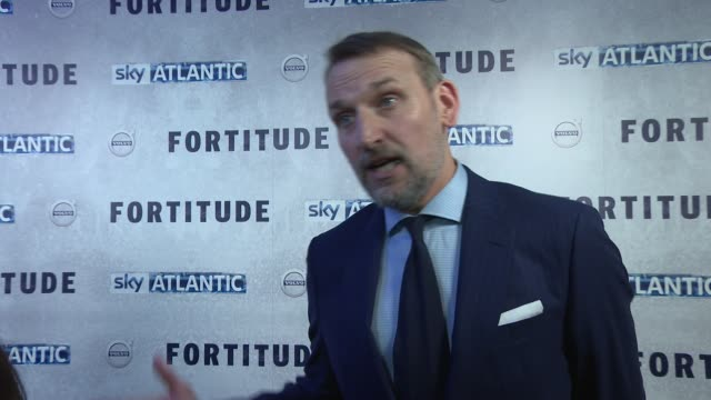 CLEAN 'Fortitude' UK Premiere on January 14 2015 in London England
