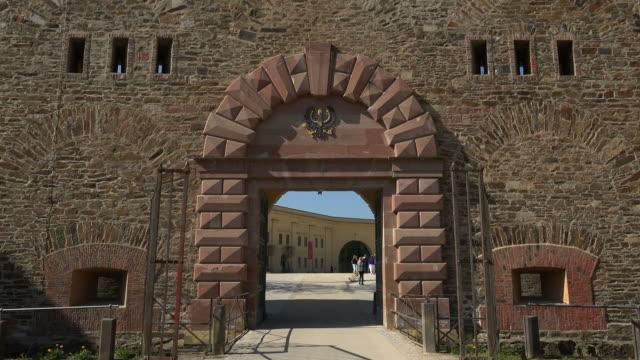 Fortress Ehrenbreitstein, Koblenz, Rhine, Rhineland-Palatinate, Germany