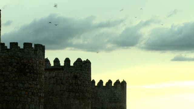 vídeos de stock e filmes b-roll de fortaleza - muro circundante