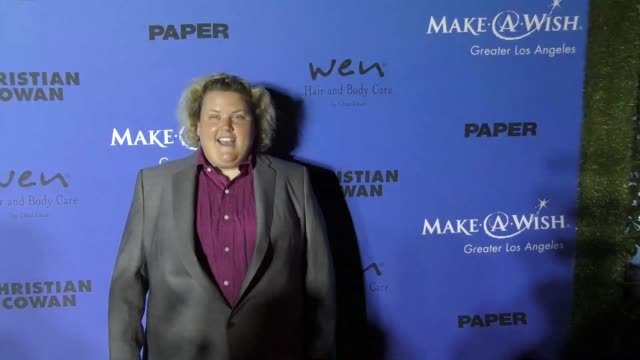 Fortune Feimster at the PAPER Magazine Runway Benefit For MakeAWish Foundation on October 24 2017 in Los Angeles California