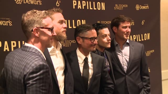 forty five years after the legendary movie with steve mcqueen and dustin hoffman inspired by the 1969 best seller by henri charriere papillon comes... - dustin hoffman video stock e b–roll