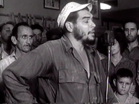 vídeos de stock, filmes e b-roll de forty years after the death of ernest che guevara the revolutionary remains on of the most powerful symbols of left-wing revolt and of communist... - 1 minuto ou mais