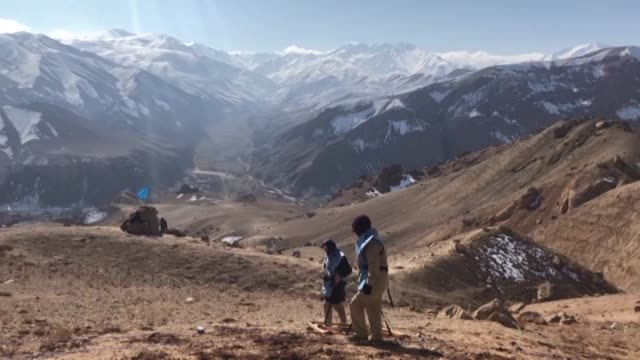 forty years after the soviet union invaded afghanistan and three decades since the conflict ended the war's legacy continues to claim lives across... - afghanistan stock videos & royalty-free footage