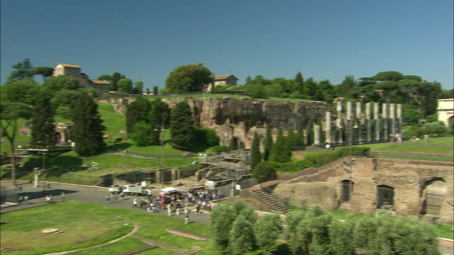 forum, rome, italy - arch of constantine stock videos and b-roll footage