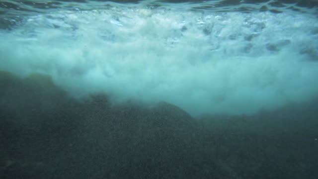 forward: ocean waves underwater, kauai, hawaii - pacific ocean stock videos & royalty-free footage