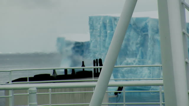 fossil fuels and icebergs - ship stock videos and b-roll footage