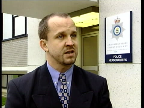 Cambridgeshire Police HQ PC Pete Morley interview SOT Calls for family to make contact i/c LTN