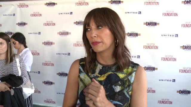 FoundationActors Inspiration Award To Rashida Jones8th Annual Los Angeles Golf Classic at Lakeside Golf Club on June 12 2017 in Burbank California