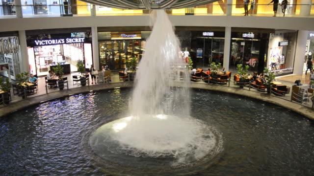 MS Fountain at Marina Bay Sands shopping center/ Singapore