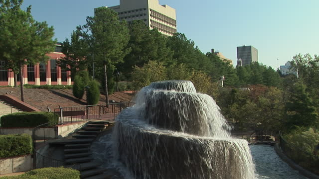 ms, fountain in finlay park, columbia, south carolina, usa - 2008 stock videos and b-roll footage
