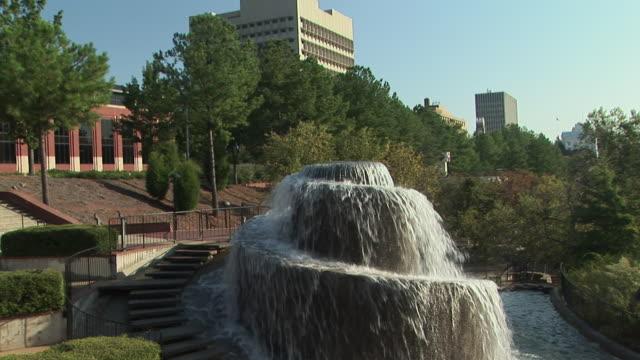 ms, fountain in finlay park, columbia, south carolina, usa - south carolina stock videos & royalty-free footage