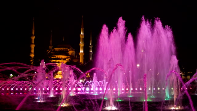 Fountain in the Sultanahmet park