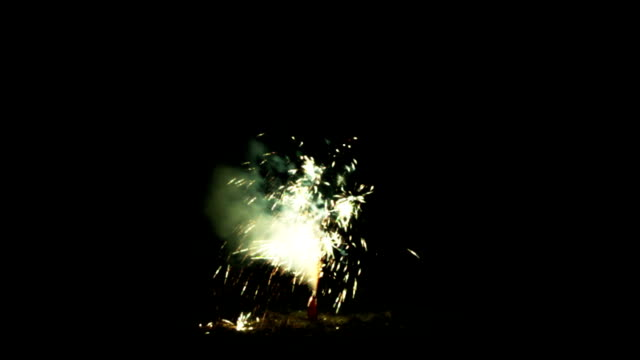 fountain of fireworks - around the fair n.y stock videos & royalty-free footage