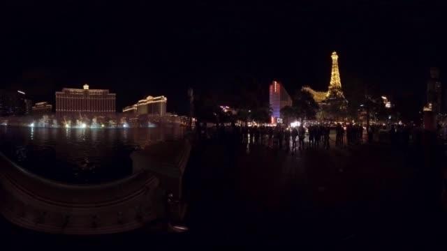 Fountain show at Bellagio Hotel