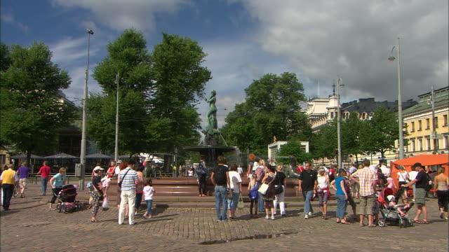 Fountain to Market, Helsinki, Finland