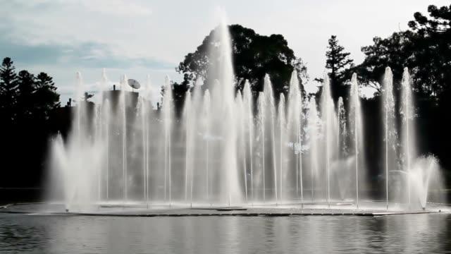 fontana - stato di rio grande do sul video stock e b–roll