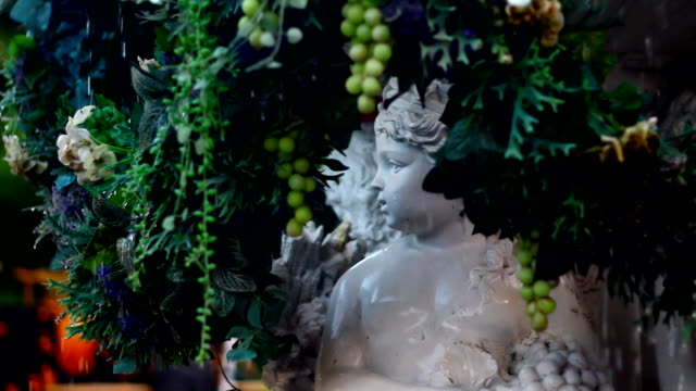 fountain with sculpture - grape stock videos & royalty-free footage