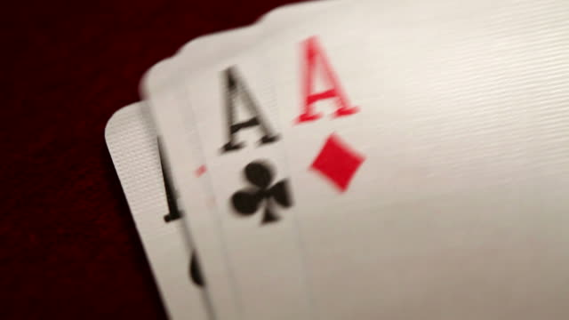 four aces - ace stock videos and b-roll footage