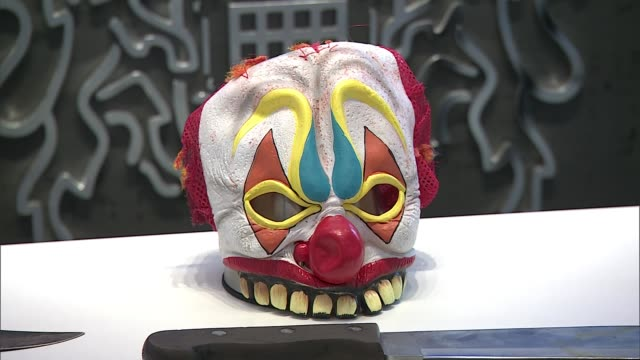 four gang members jailed after dramatic police chase in leytonstone england london int clown mask worn by lekan akinsoji during car chase - verurteilung stock-videos und b-roll-filmmaterial