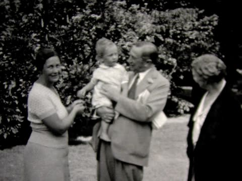 1931 four generations of family together - 1931 stock videos & royalty-free footage