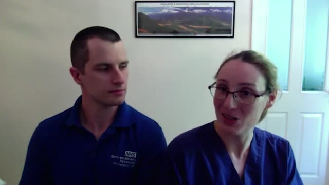 four members of a family who all work at the same hospital have spoken of their pride in fighting coronavirus together. debbie cottrell works as a... - physiotherapy stock videos & royalty-free footage