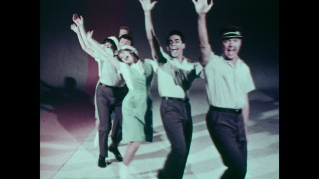 1967 Four men and two women sing about the difficulties in mailing a letter to one of the 24 Springfields in America