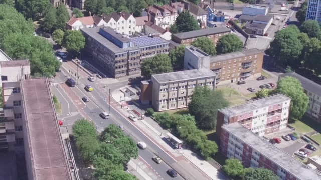 Four men jailed for murder of London drug dealer in Bristol ENGLAND Bristol EXT View down on city streets and houses Detective Chief Inspector Darren...
