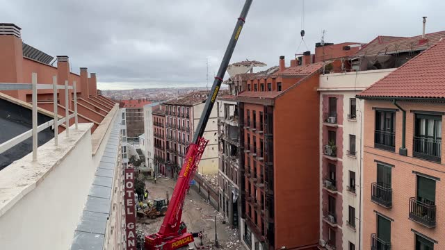 ESP: Four People Dead After Madrid Gas Explosion