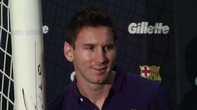 four time world player of the year lionel messi on thursday hailed his fabulous barcelona teammate neymar as a future ballon dor winner - occurrence stock videos & royalty-free footage
