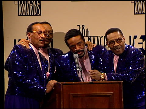 Four Tops at the NAACP 28th Annual Image Awards on February 8 1997