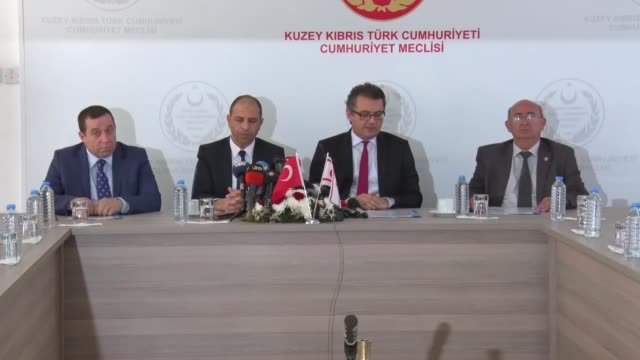 four turkish cypriot political parties on february 01, 2018 signed a protocol to form a coalition government. the move comes two days after turkish... - 12 17 months stock videos & royalty-free footage