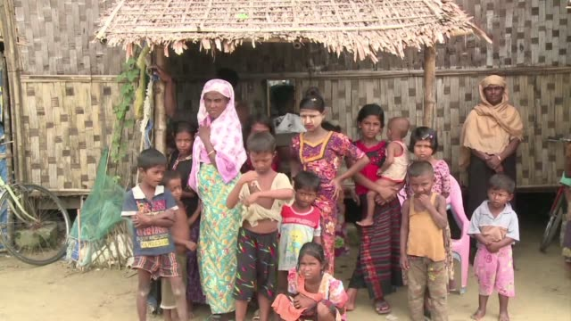 four years after fleeing religious riots that emptied her muslim rohingya neighbourhood in myanmar's rakhine state myee shay yearns for the trappings... - rohingya culture stock videos and b-roll footage