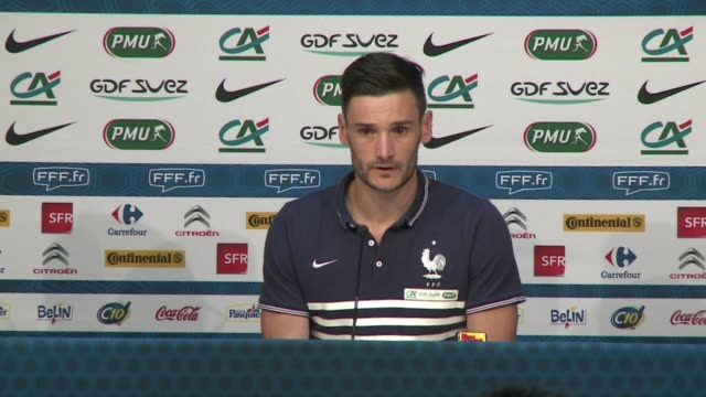 four years after its embarrassing performance at the world cup in south africa france is looking to impress in brazil - hugo lloris stock videos and b-roll footage