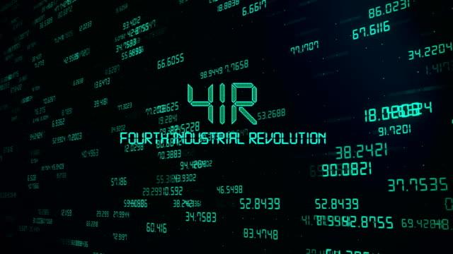 fourth industrial revolution background concept - industrial revolution stock videos & royalty-free footage