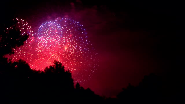 fourth of july fireworks - fourth of july stock videos & royalty-free footage