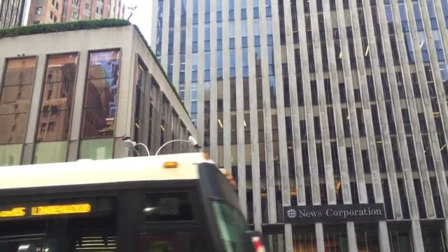 fox news headquarters in new york - base stock videos & royalty-free footage