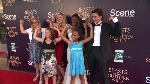 CHYRON Fox Searchlight Pictures And Cinereach Present 'Beasts Of The Southern Wild' Premiere Party New Orleans Louisiana United States 06/25/12...