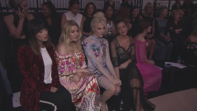 Onschedule Temperley London SS17 catwalk show on September 18 2016 in London England