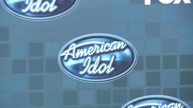fox's 'american idol 2011' finale results show signage at the fox's 'american idol 2011' finale results show at los angeles ca - american idol stock videos & royalty-free footage