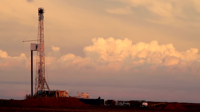 fracking and thunderheads hd - nuclear blast stock videos and b-roll footage