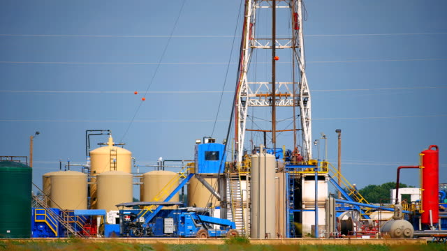 fracking oklahoma closeup - oklahoma stock videos & royalty-free footage