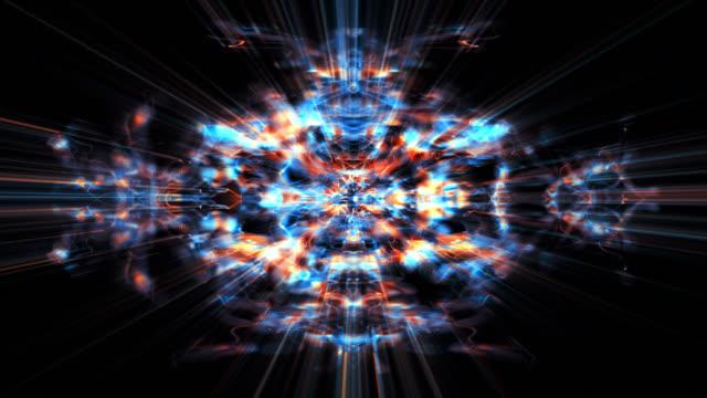 fractal forms morph (video loop). - morphing stock videos & royalty-free footage