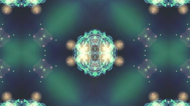 フラクタル パターンの背景のアニメーション