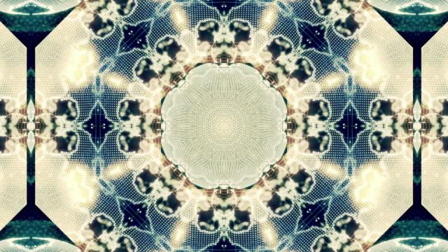 Animación de fondo de patrón fractal