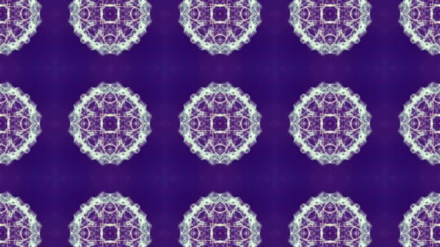Fraktale Muster Hintergrundanimation