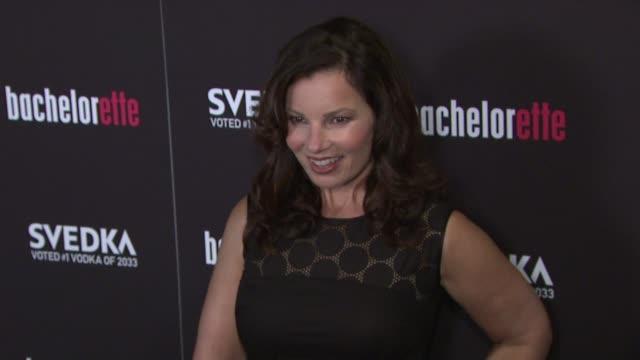"fran drescher at ""bachelorette"" - new york premiere at sunshine landmark on september 04, 2012 in new york, new york - ランドマークサンシャインシアター点の映像素材/bロール"