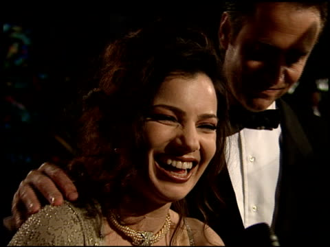 fran drescher at the 1995 academy awards morton party at morton's in west hollywood california on march 27 1995 - 67th annual academy awards stock videos & royalty-free footage