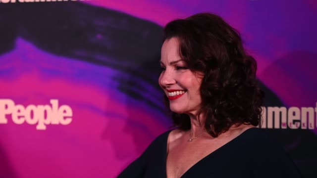 fran drescher at the people entertainment weekly 2019 upfronts at union park on may 13 2019 in new york city - entertainment weekly stock videos & royalty-free footage
