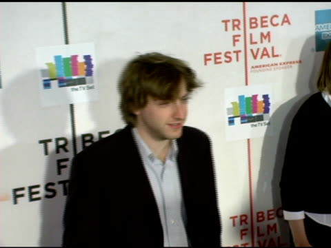 fran kranz at the 2006 tribeca film festival 'the tv set' premiere at tribeca performing arts center in new york new york on april 28 2006 - performing arts center stock videos & royalty-free footage